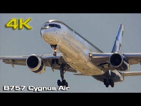 Cygnus Air Boeing B757 At MAD [4K]