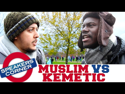 Moroccan Muslim vs SA RA | Origin Of Universe | Speakers Corner