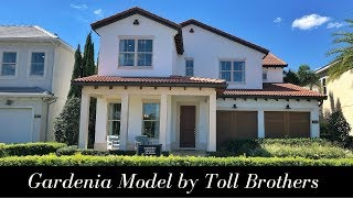 Gardenia model by Toll Brothers  Lakeshore Community  Winter Garden FL  New Home Tour