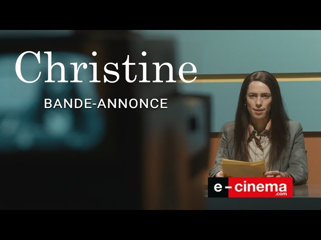 CHRISTINE - bande annonce (VOST) Drame