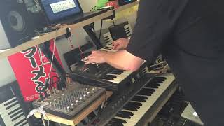 Synthesizer Ambient Industrial Live Synth Jam   Tillthen   YouTube 360p