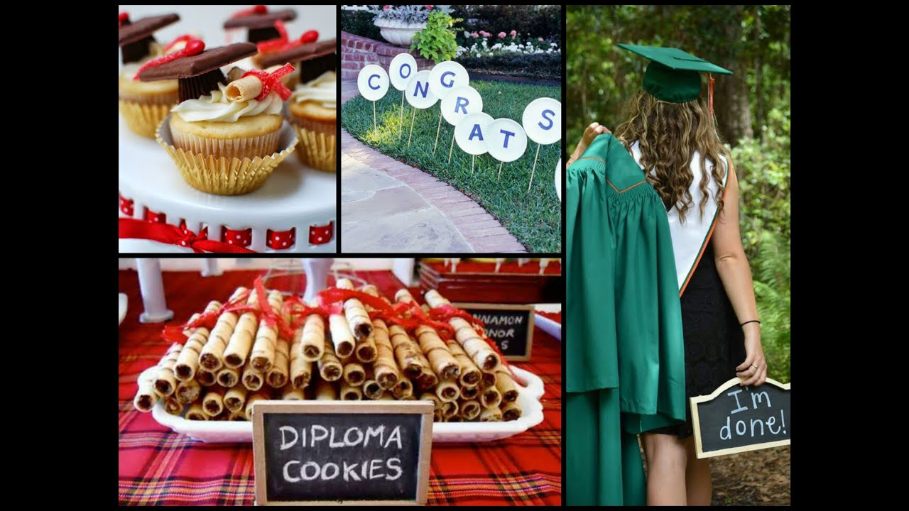 25 diy graduation party ideas youtube