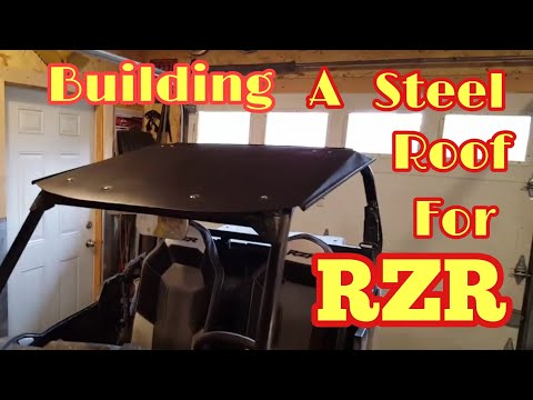 RZR homemade roof