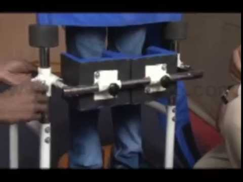 Standing Frame For Disabled Child Stander Imi 1504 Youtube