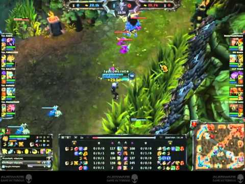 Gaming Festival 2012 - LoL Starz Finals: TyL vs DD Game 3