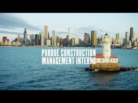Construction Management Technology interns in Chicago – Internship Spotlight – Purdue Polytechnic
