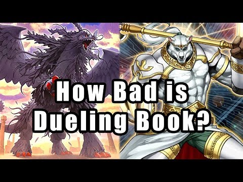 How Bad is Dueling Book? (Yu-Gi-Oh! Online Simulator) - YouTube