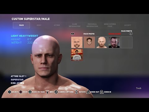WWE 2K18 How to Add Custom Face Photos (PC/Xbox One/PS4)