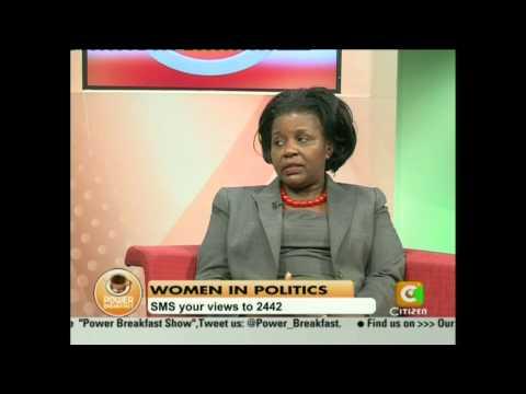 Power Breakfast Interview with Joyce Laboso,Deputy speaker of the National Assembly