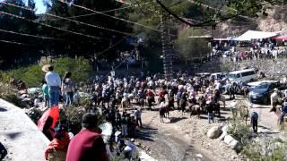 Fiesta de la Virgen en la peñita Atarjea Guanajuato