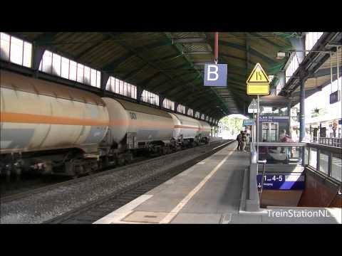 Doorkomst Vectron met Goederen Station Bonn