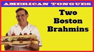 A dying race- two Boston Brahmins converse (from AMERICAN TO