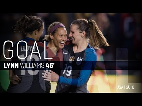 WNT vs. Switzerland: Lynn Williams Goal - Oct. 19, 2016