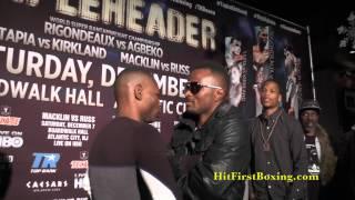 Rigondeaux vs Agbeko & Undercard Face Off