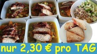 MEAL PREP für weniger als 16 € Pro WOCHE 😱 l That