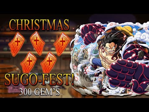MERRY SUGOFEST 300 GEMS  (One Piece Treasure Cruise - Global)