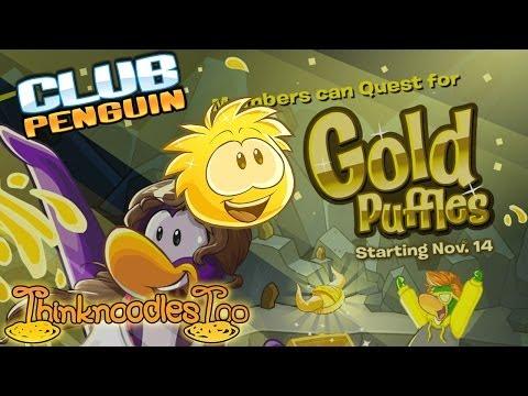 Club Penguin: Golden Puffle Walkthrough!