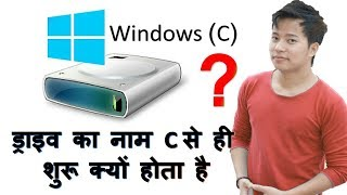 Why Computer Hard disk drive name starts from C but not from A ?