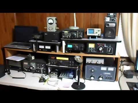New Electronics Workbench and Ham Radio Station - Work in Progress