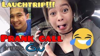 PRANK CALLING MY BOYFIE! + SHOUT OUT! (MUNTIK NA MA-BUDOL BUDOL SI GIU!)