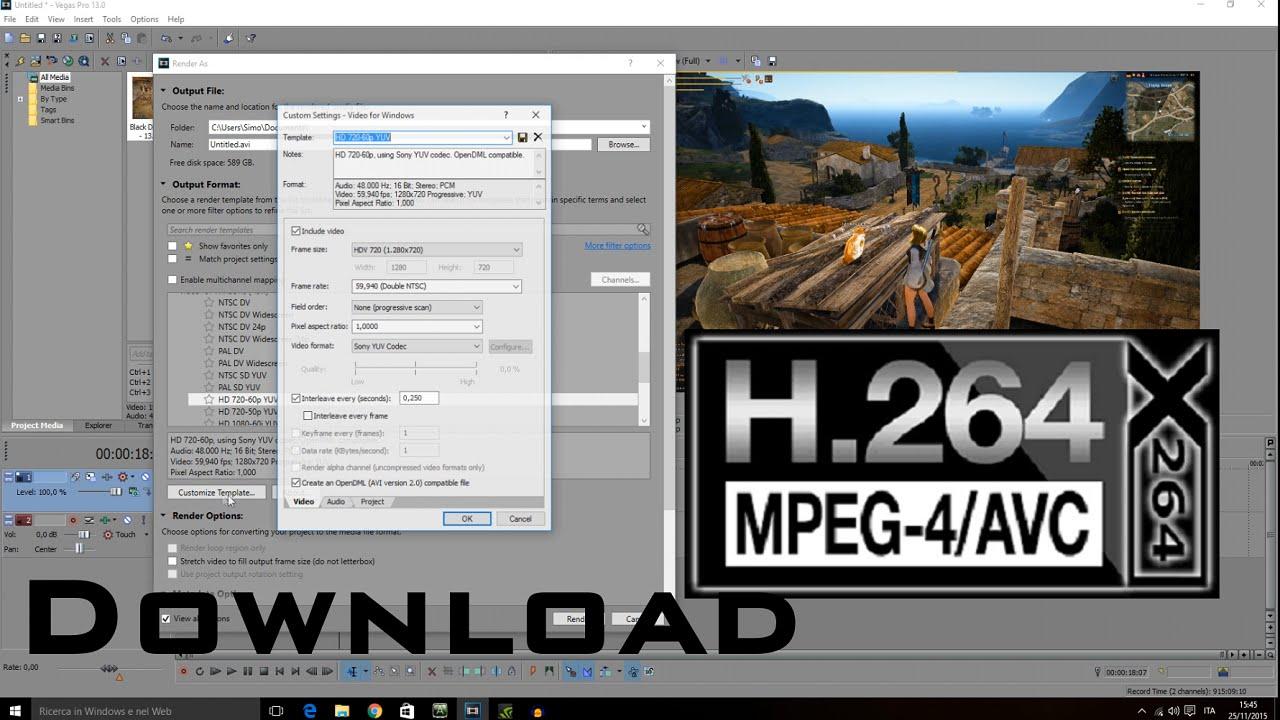 H264 скачать кодек драйвера и русификаторы.