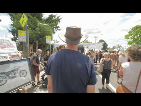 Sydney Video Walk 4K - Norton St Italian Festa Spring 2017