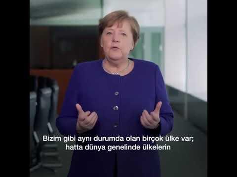 Merkel'in açıklaması