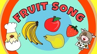 Fruit Song for Kids | The Singing Walrus