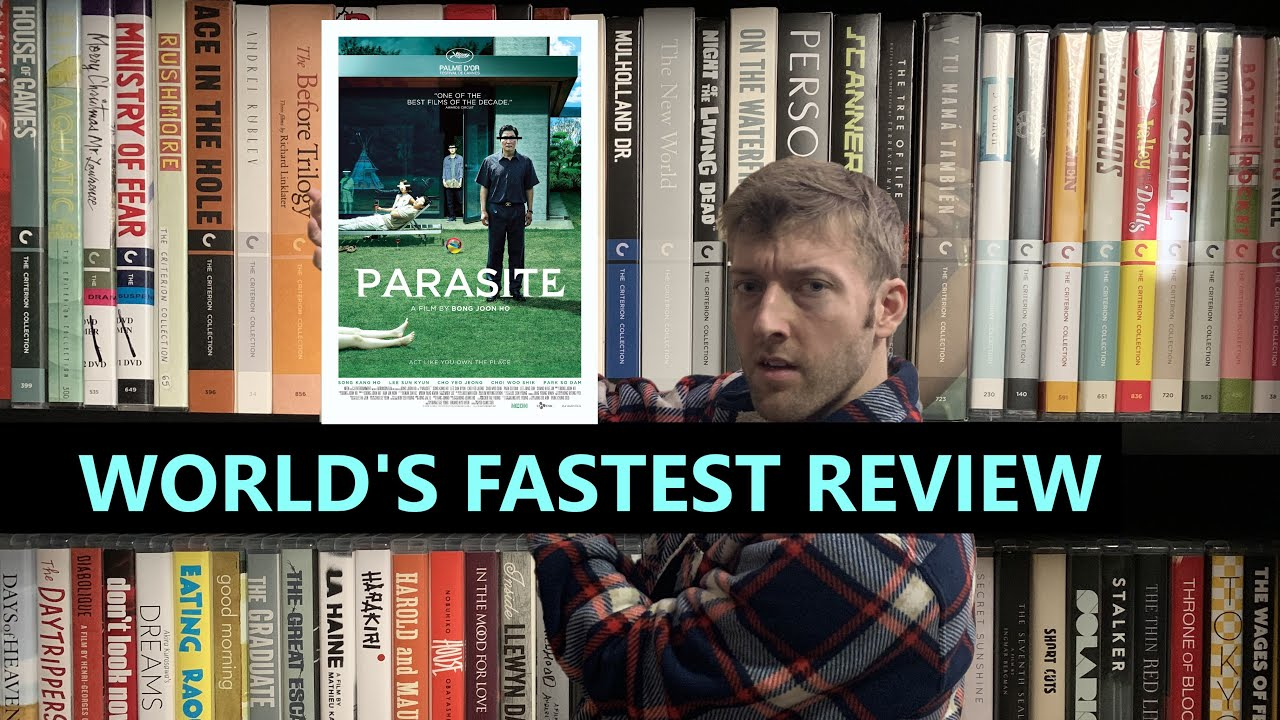 Reviewing PARASITE in 10 seconds or less
