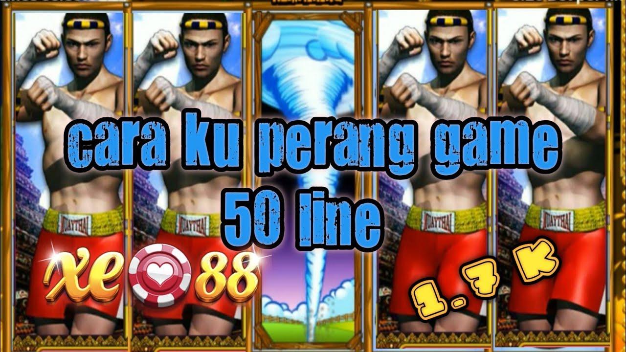 xe88 ?️?️cara ku perang game 50 lines.game xe88