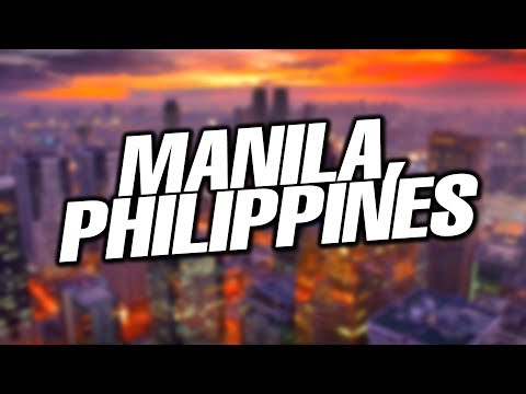 LEAVING FOR MANILA, PHILIPPINES!!!