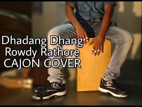 Dhadang Dhang [Rowdy Rathore 2012] - CAJON cover