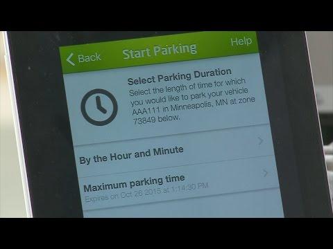 Officials Unveil Minneapolis Parking App