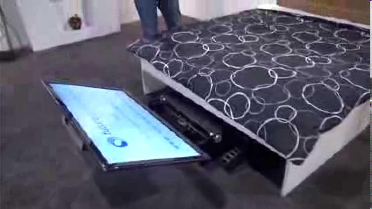 Tecnetico cedia future automation una ingeniosa forma de - Cama escondida en mueble ...