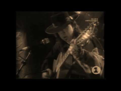 "Stevie Ray Vaughan ""unplugged 12 strings guitar"" - MTV live 1990"
