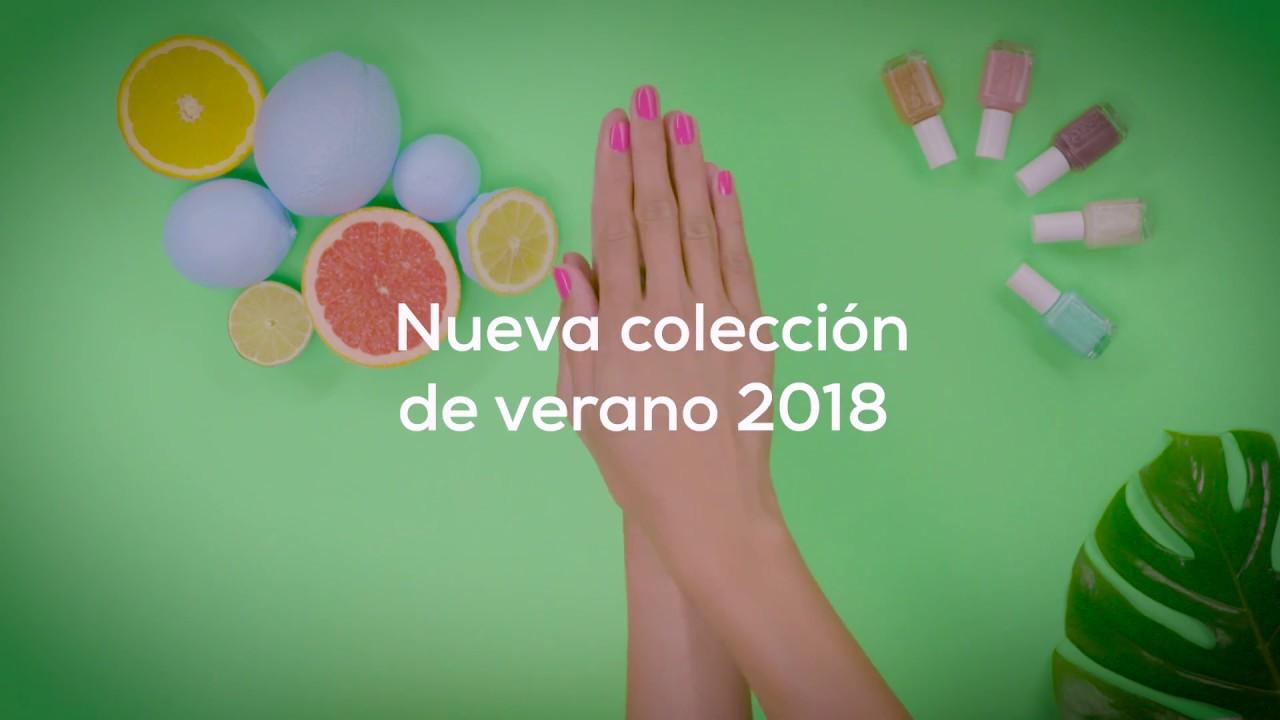 Tendencias 2018. Color de uñas para el verano | Essie - YouTube