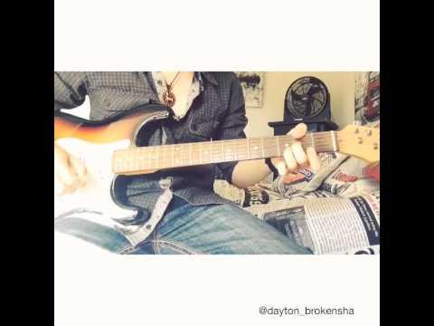 Thinking Out Loud - Ed Sheeran (guitar play through) - Dayton Brokensha