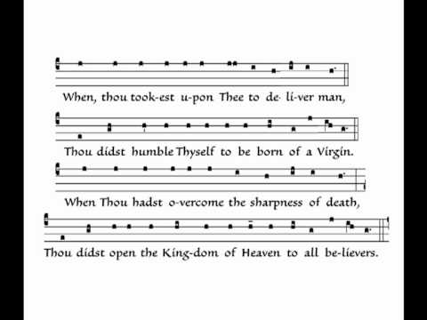 We praise Thee, O God (Te Deum laudamus) Mode III (Anglican Translation)