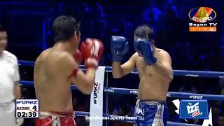 Best Boxing Vong Noy Vs Thai, 19 Oct 2019, Kun Khmer Boxing