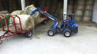 MultiOne SD: The all new rear seated articulated mini loader