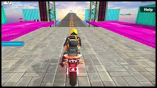 Impossible Bike Stunt 3D Full Game Walkthrough All Levels