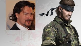 David Hayter Doing Solid Snake