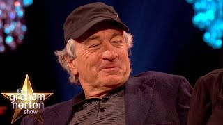 Robert De Niro Impressed By Tom Hiddleston's Robert De Niro Impression - The Graham Norton Show thumbnail