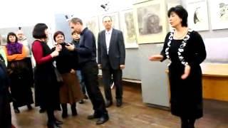 «Увидеть больше, чем другие...»(http://www.mv.org.ua/?news=42149 Вчера, 10 января, в выставочном зале краеведческого музея открылась выставка работ препод..., 2013-01-11T08:09:38.000Z)