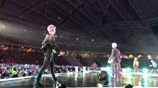 Vlog 3 : BTS made it rain in Singapore! Love Yourself Tour 2019 FANCAM 4K