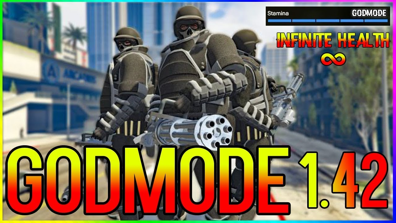 GTA 5 GODMODE GLITCH !