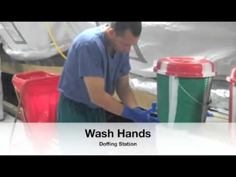 USPHS CC MMU Ebola Treatment Unit Training Video