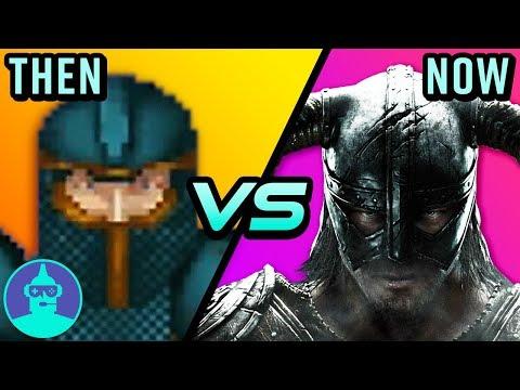 The EVOLUTION of The Elder Scrolls - Then vs Now - Morrowind, Oblivion & Skyrim | The Leaderboard