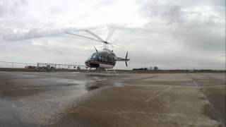 Helicopter Landing & Shutdown Sequence
