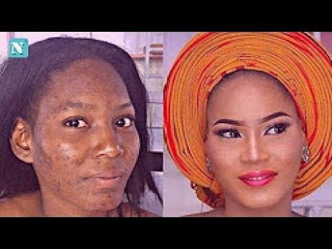 Wonderful Photos Of Nigerian Women Totally Transformed By Makeup Artistes -FX7News